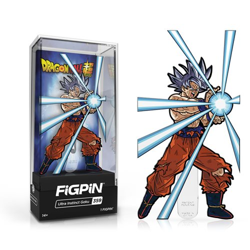 Dragon Ball: Super Ultra Instinct Goku FiGPiN Enamel Pin