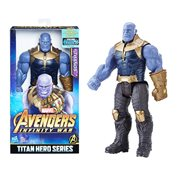 Avengers: Infinity War Titan Hero Series 12-Inch Thanos Action Figure with Titan Hero Power FX Port