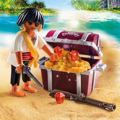 Playmobil Special Plus 9358 Pirate with Treasure Chest