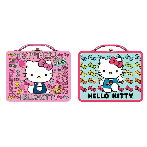 Hello Kitty Tin Lunch Box Set