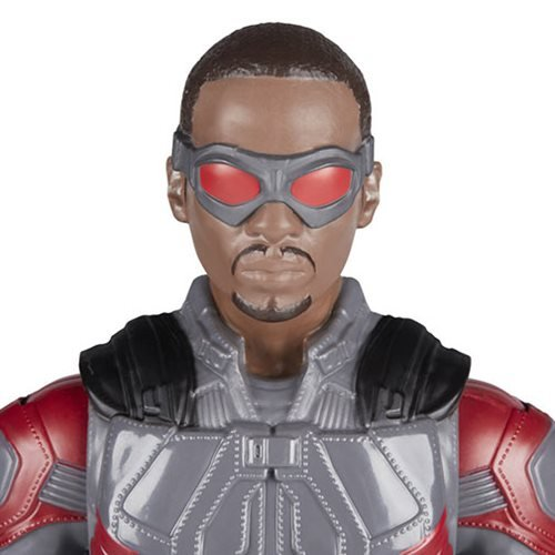 Avengers: Infinity War Titan Hero Series Marvel's Falcon with Titan Hero Power FX Port 12-Inch Actio