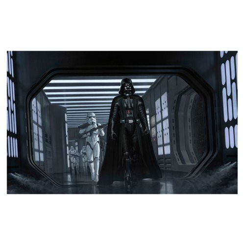 Star Wars A Presence I've Not Felt Since by Jerry Vanderstelt Canvas Giclee Art Print