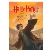 Harry Potter and the Deathly Hallows Book Cover MightyPrint Wall Art Print