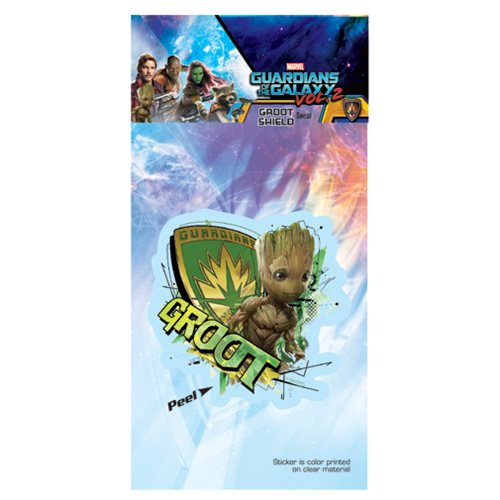 Guardians of the Galaxy Vol.2 Groot Shield Decal