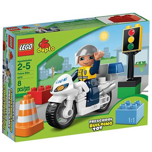 LEGO DUPLO 5679 Police Bike Case