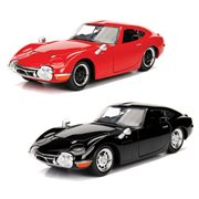 JDM Tuners 1967 Toyota 2000GT 1:24 Scale Die-Cast Metal Vehicle Case