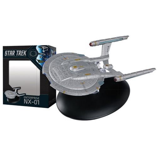 Star Trek Starships Best Of Figure #3 U.S.S. Enterprise NX-01 Vehicle
