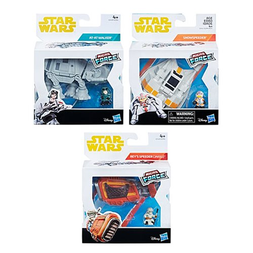 Star Wars Micro Force Vehicles Wave 1 Case