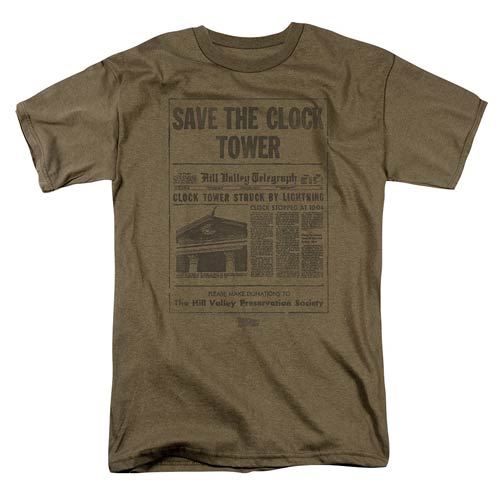 Back to the Future Save The Clock Tower T-Shirt