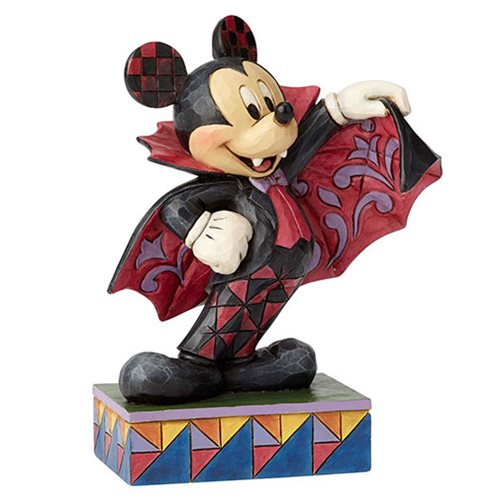 Disney Traditions Colorful Count Vampire Mickey Mouse Statue by Jim Shore