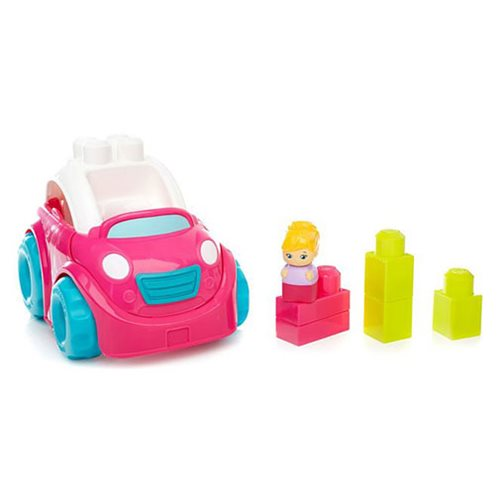 Mega Bloks Convertible Pink Vehicle