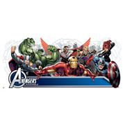 Avengers Assemble Personalized Headboard Wall Decals