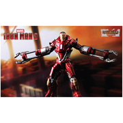 Iron Man 3 Mark 35 Disaster Rescue Suit Red Snapper 1:24 Scale Model Kit, Not Mint