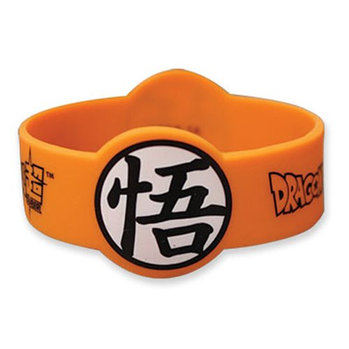Dragon Ball Super Goku Symbol PVC Wristband Bracelet