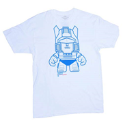 Transformers Jazz White T-Shirt