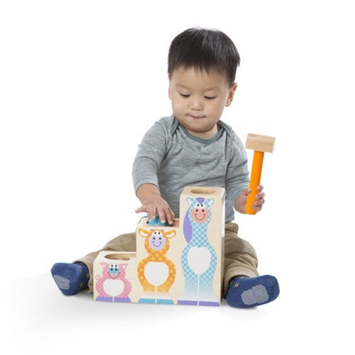 Melissa & Doug First Play Pound and Roll Stairs