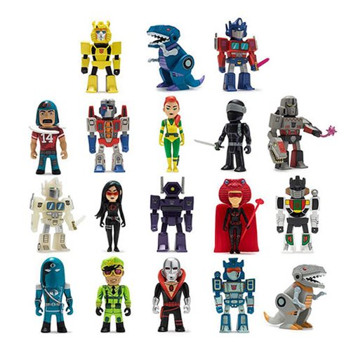 Transformers vs. G.I. Joe Mini-Figure Series Display Box