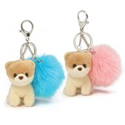 Boo the Dog Boo Poof Key Chain Set