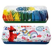 Crayola Pencil Holder Tin Box Set