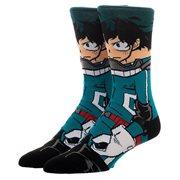 Miles Morales Spider-Man 360 Character Crew Socks Standard