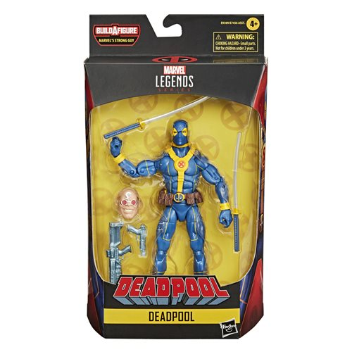 Deadpool Marvel Legends Blue Deadpool 6-inch Action Figure