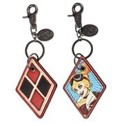 Harley Quinn Bombshells Faux Leather Key Chain