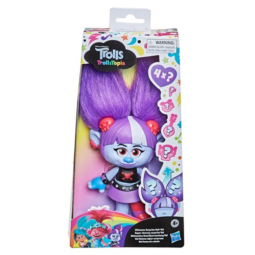 Trolls TrollsTopia Ultimate Surprise Hair Val Doll