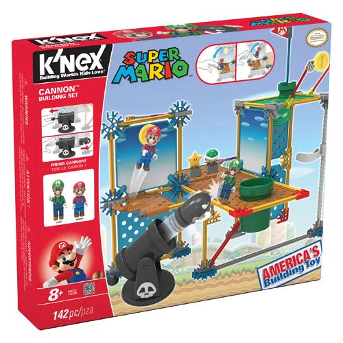 KNEX Nintendo Super Mario Bros. Bullet Bill Building Playset