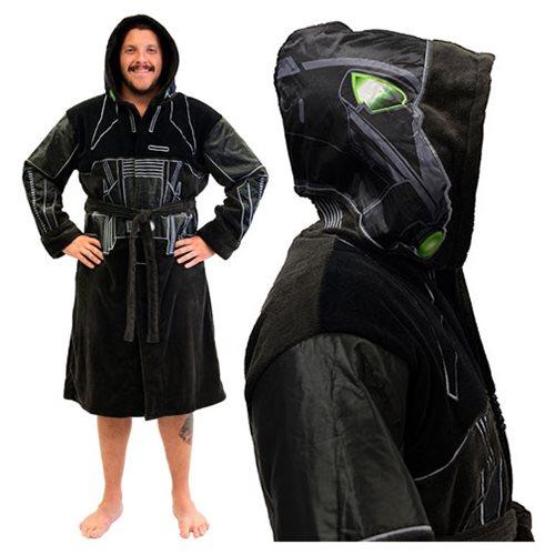 9c10f770df Star Wars Rogue One Death Trooper Hooded Fleece Bathrobe ...