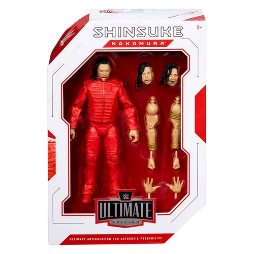 WWE Ultimate Edition Shinsuke Nakamura Action Figure