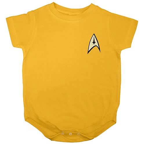 Star Trek Command Uniform Onesie