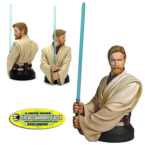 EE Exclusive Star Wars Episode 3 Obi-Wan Kenobi Bust