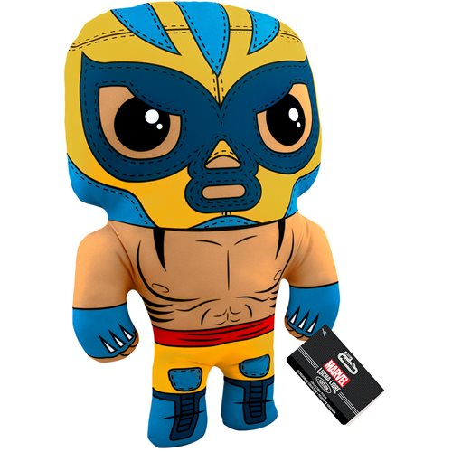 Marvel Luchadores El Animal Indestructible Wolverine 17-Inch Plush