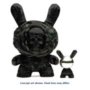 Arcane Divination The Clairvoyant 20-Inch Antique Black Dunny Figure