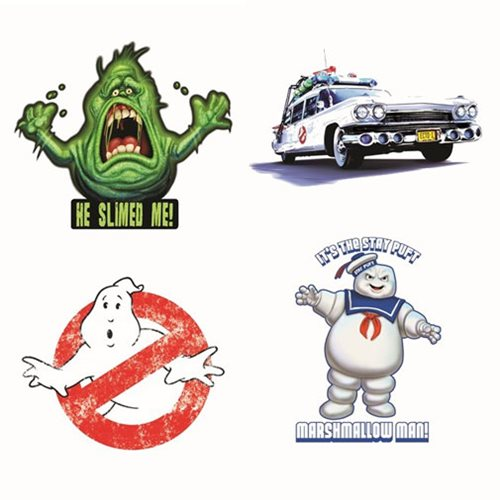 Ghostbusters sticker 4 pack
