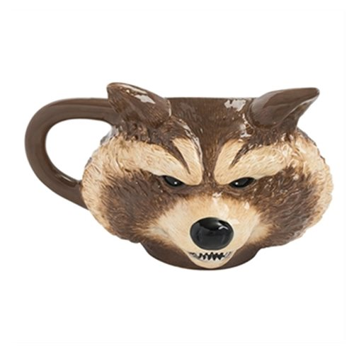 Guardians of the Galaxy Rocket Racoon 12 Oz. Sculpted Ceramic Mug