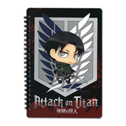Attack on Titan Survey Corps Levi Spiral Notebook