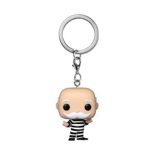 Monopoly Criminal Uncle Pennybags Pocket Pop! Key Chain