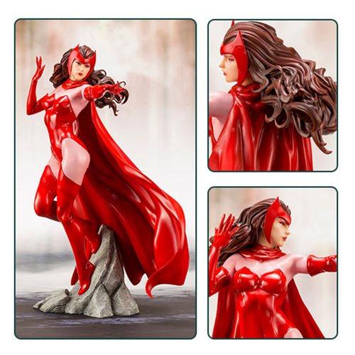 Картинки по запросу Marvel ArtFX+ Statues - 1/10 Scale Scarlet Witch