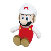 Super Mario All-Stars Fire Mario 10-Inch Plush