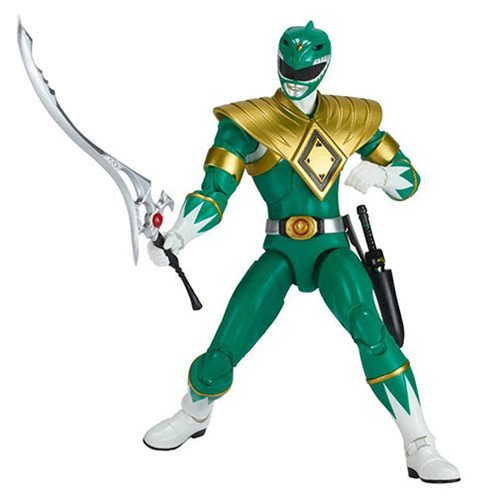Mighty Morphin Power Rangers Legacy Green Ranger Action Figure