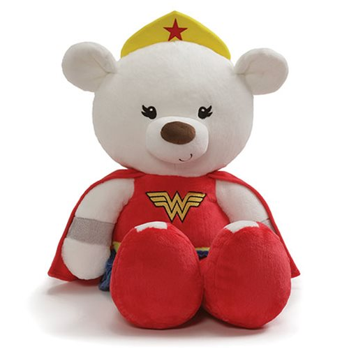 Wonder Woman Fuzzy Bear Jumbo 25-Inch Plush