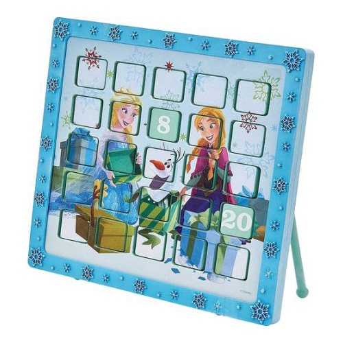 Disney Frozen Anna and Elsa 9 1/2-Inch Advent Calendar