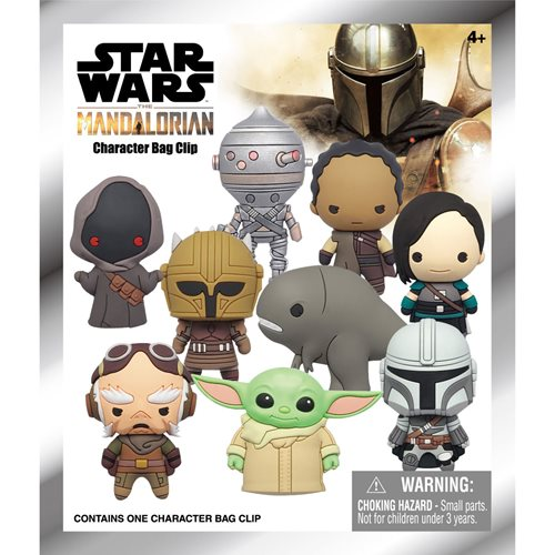 Star Wars: The Mandalorian Figural Bag Clip Random 6-Pack