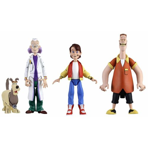 Back to the Future: TAS Toony Classics 6-Inch Figure Set