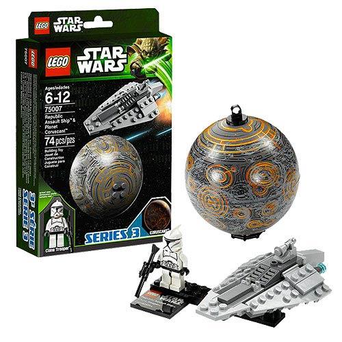 LEGO Star Wars 75007 Republic Assault Ship & Coruscant