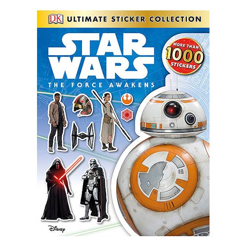 Star Wars: Episode VII - The Force Awakens Ultimate Sticker Collection Book