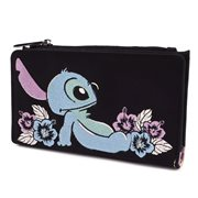 Lilo & Stitch Tropical Stitch Print Flap Wallet