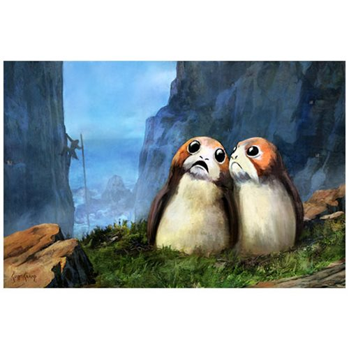 Star Wars Local Residents by Cliff Cramp Canvas Giclee Art Print