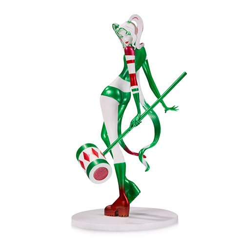DC Comics Artists' Alley Harley Quinn Holiday Variant by Sho Murase Designer Vinyl Statue